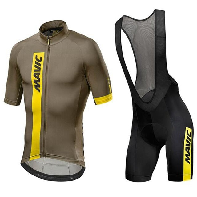 ... Summer short sleeve cycling Jersey 2018 mavic cycling Apparel  Breathable bicycle Pro team riding clothing road ... 9409ee35b