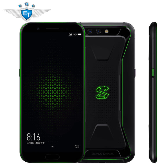 Xiaomi Black Shark Gaming Phone Blackshark 5.99'' 6GB 64GB Snapdragon 845 Smartphone X Type Antenna Professional MIC 4000mAh