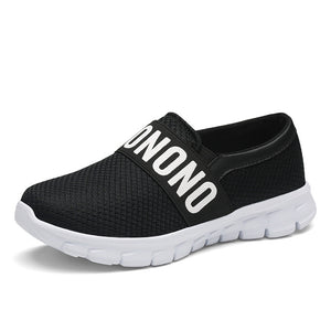 2018 brand mesh breathable Summer Sport shoes women loafers Slip on ultralight shoes