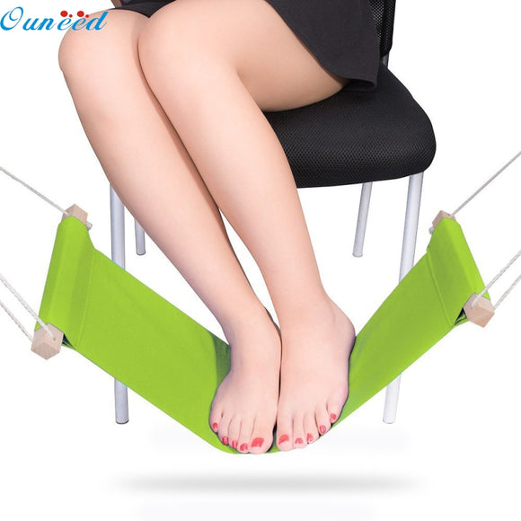 Ouneed Happy Home New Mini Office Foot Rest Stand Desk Feet Hammock 1 Piece