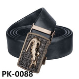 Barry.Wang PK-0070 2017 Fashion Designers Automatic Buckle Genuine Leather Luxury Strap Male Belt for Men Business High Quality