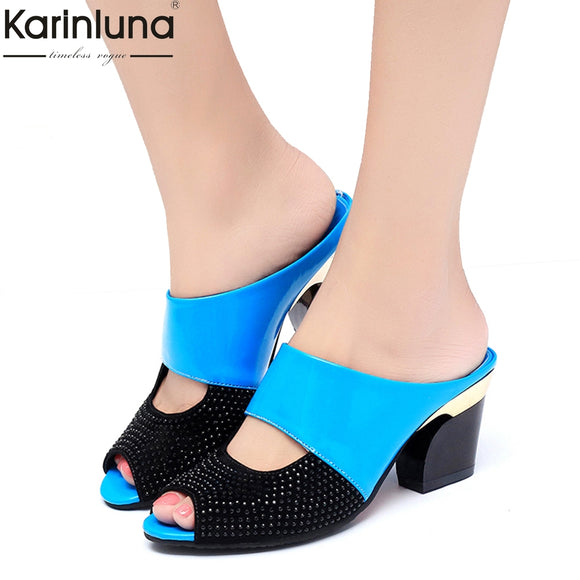 2018 discount Woman Sandals flip flops wholesale high heels summer sandals women's shoes woman party date slippers