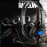 Wired Gaming Headset Headphones with Microphone for PS4 PC Laptop Phone Game ConsoleLarge soft ear pieces