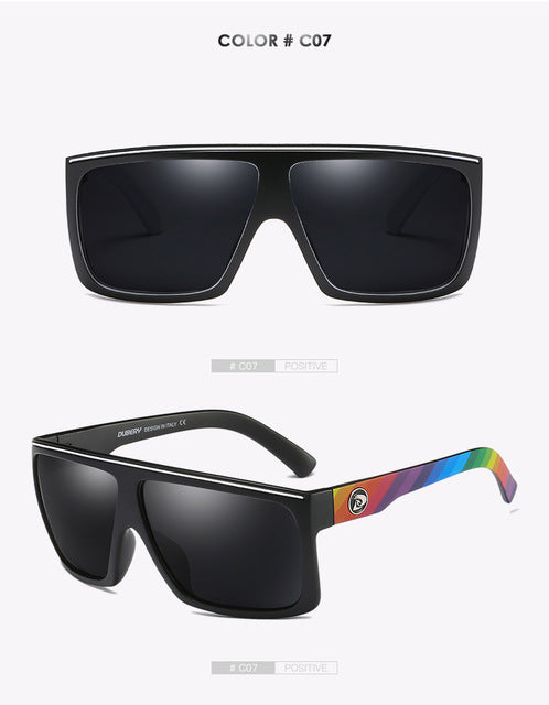 03fb216596 ... DUBERY Brand Design Polarized HD Sunglasses Men Driving Shades Male  Retro Sun Glasses For Men Summer ...