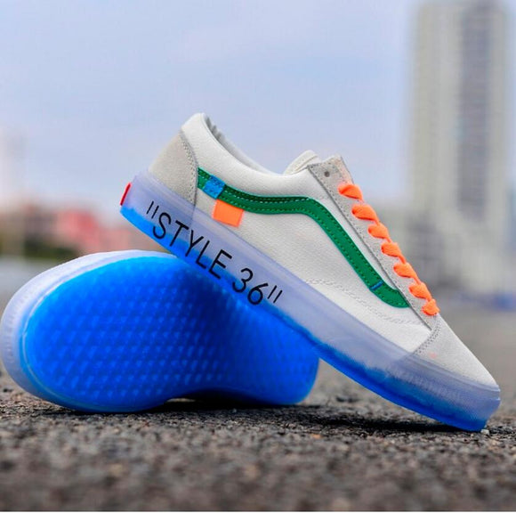 2018 VANS Anaheim Old Skool X OS Classic Men and Womens Sneakers canvas shoes, Sports shoes