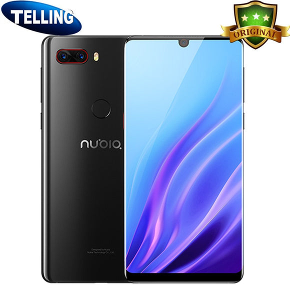 ZTE Nubia Z18 Smartphone Android 8.1 4G LTE Snapdragon 845 Octa Core 5.99