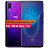 "Original Vivo NEX Mobile Phone 6GB/8GB RAM 128GB ROM Octa Core 6.59"" Fingerprint Unlock Auto-elevated Camera 4000mAh Cellphone"