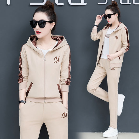 YICIYA tracksuits for women 3 Piece set sportswear outfits fitness co-ord set 2 2pcs pants suits and top plus size big clothing