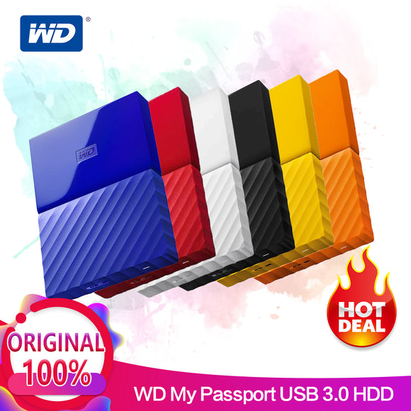 Western Digital My Passport Portable HDD 2.5