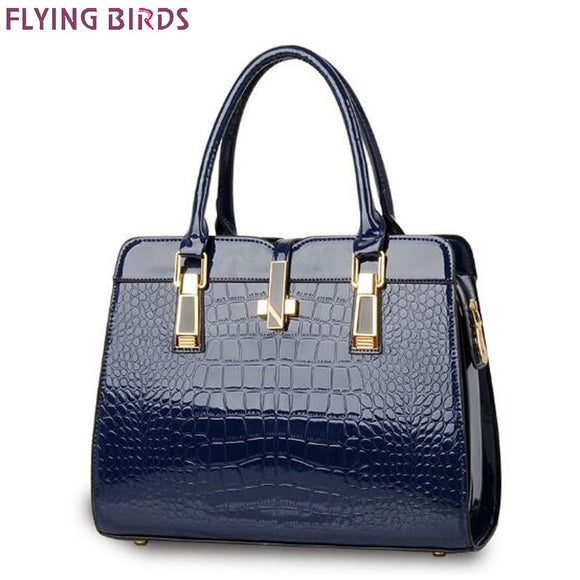 FLYING BIRDS! Women Handbag Ladies Shoulder Bag PU Leather High Quality Totes Vintage Luxury Handbags Women Bags Designer Casual