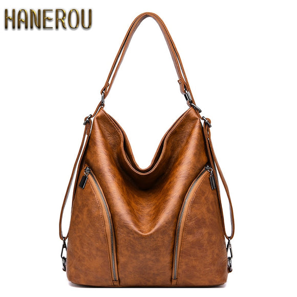 Luxury Handbags Women Bags Designer 2019 Fashion Winter Women Bag PU Leather Shoulder Bag For Woman New Ladies Hand Bags Sacs
