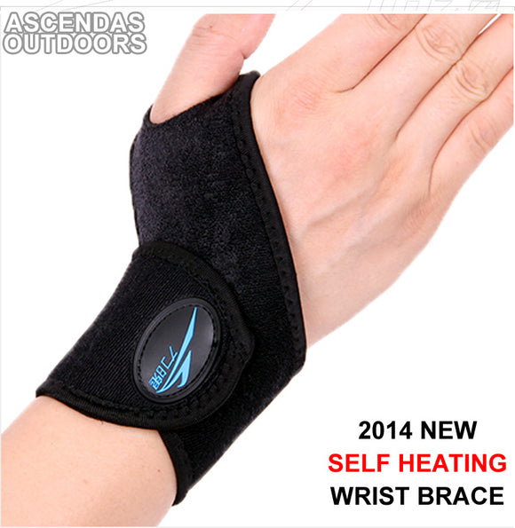 New Free Shipping 1 Pair Self heating Wrist Support