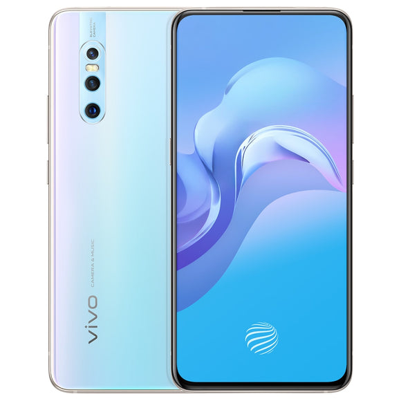 vivo X27 Mobile Phone 8G RAM 128G ROM New Colour 48.0MP Elevating Camera IMX586 Sensor 4000mAh Battery Android 9.0 Smartphone