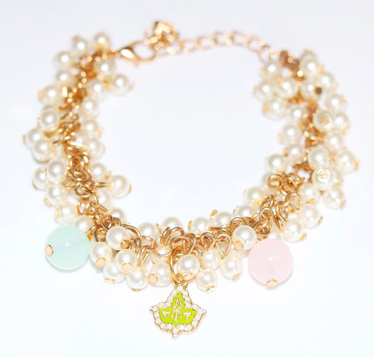 AKA Ivy and Pearls Bracelet