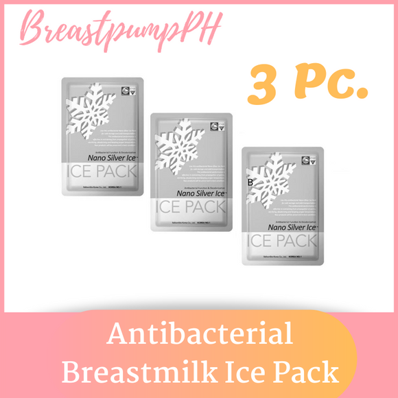 Antibacterial Reusable Breastmilk Ice Cooler Gel Ice Pack