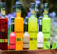 Serravinci liqueurs -Pistachio flavour, Melon flavour, Coconut flavour, Watermelon flavour, Hazelnut flavour, Chocolate and Rum, Chocolate and Whisky, Chocolate and Amaretto