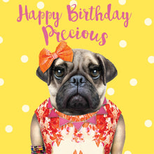 Happy Birthday Precious - Mini card