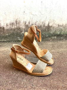 Zeta SHE Khaki Green Wedge