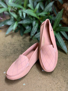 Andacco Berry Rose Leather Moccasin