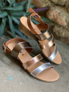 Anna Amor Three Tone Sandal