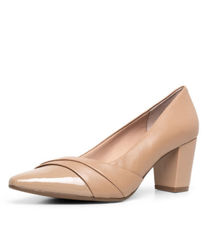 Supersoft Nepal Nude Patent Leather