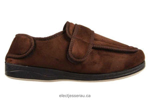 Panda Mens Slippers Edison Brown
