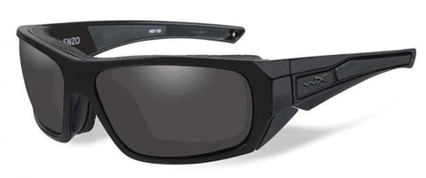 Wiley X Valor Sunglasses Smoke Grey/Clear/LR/Matte Black