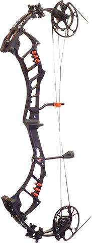 "PSE 2018 Bow Madness Epix Bow Only Right Hand 29"" 60# Black"