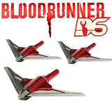 NAP New Archery Products Bloodrunner 100 Gr Deep Six(6) 2 Blade - 3 Pack