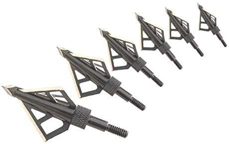 HME Fixed Blade 100 Grain Broadhead - 6 Pack