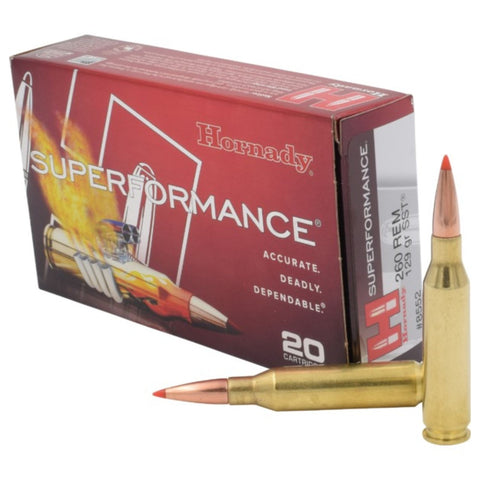 Hornady .260 Remington 129 Grain SST SPF-20 Count