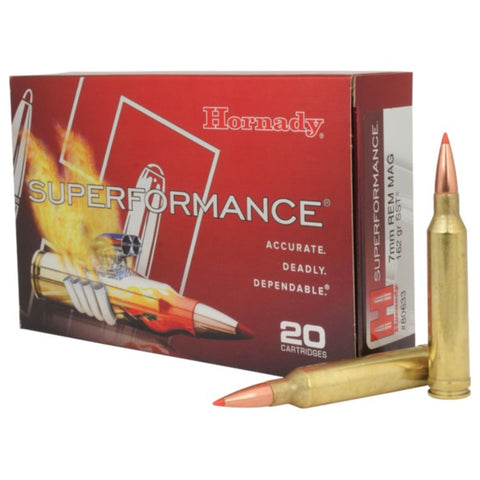 Hornady 7MM Remington Mag Grain SST SPF-20 Count