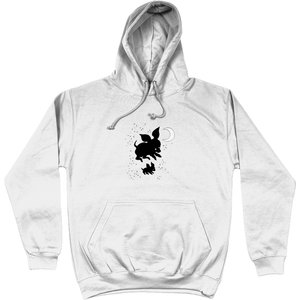 """Two Piglets"" - Pullover hoodie"