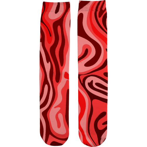 Wavy Tube Socks