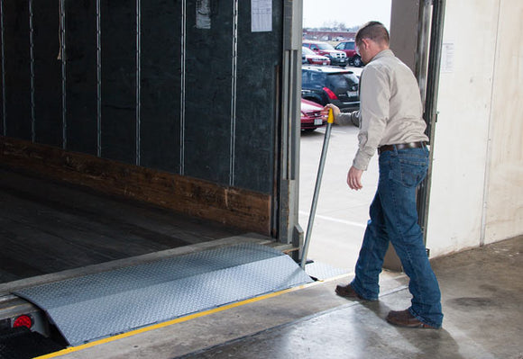 What is an Edge of Dock Leveler?
