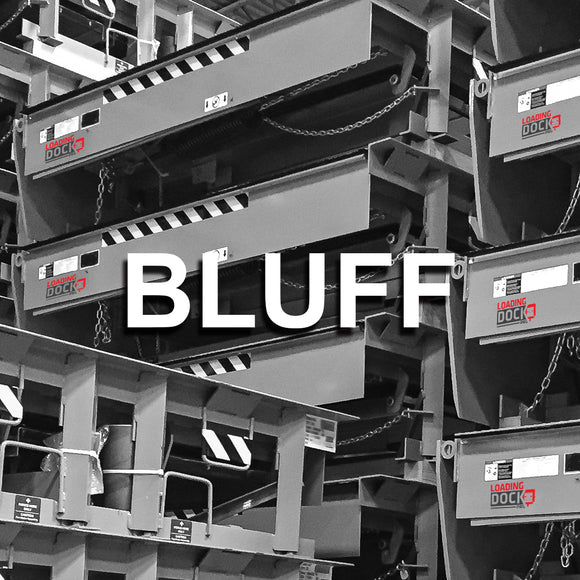 Bluff loading dock leveler parts