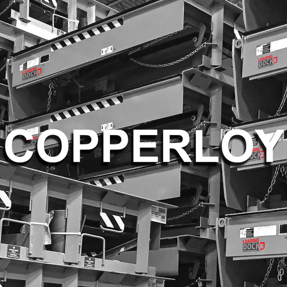 Copperloy Edge of Dock Leveler Spare Parts list bumpers springs