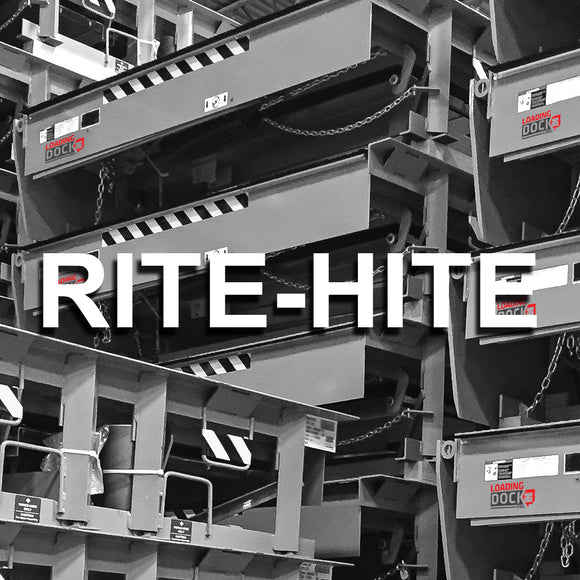 Rite-Hite Spare Dock Leveler Parts List Collection In Stock