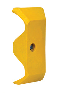 Guard Rail System Yellow Plastic End Cap GR-CAP Vestil Material Handling Parts
