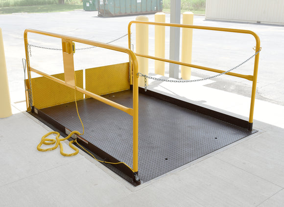 Vestil WL-100-5-68 Prem Truck Scissor Dock Lift 5K 6X8 Ft | Call for freight rate