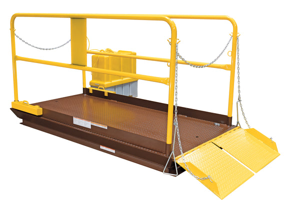Vestil WL-100-5-710 Prem Truck Scissor Dock Lift 5K 7X10 Ft | Call for freight rate