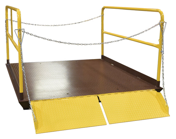 Vestil WL-100-5-78 Prem Truck Scissor Dock Lift 5K 7X8 Ft | Call for freight rate