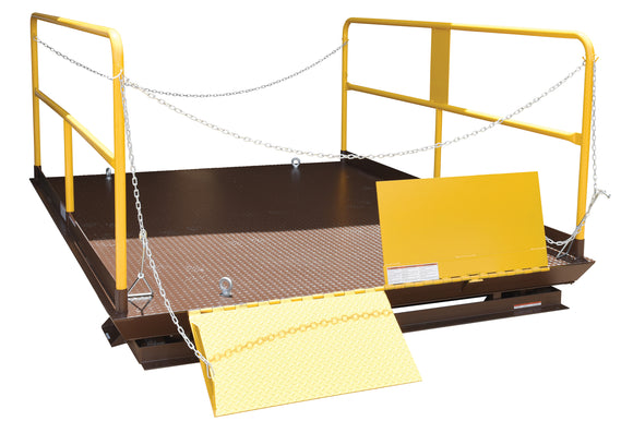 Vestil WL-100-6-810 Prem Truck Scissor Dock Lift 6K 8X10 Ft | Call for freight rate
