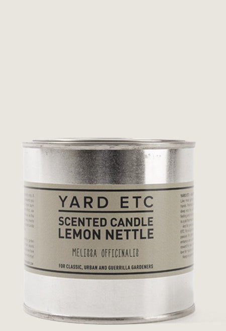 Yard ETC. Scented Candle Lemon Nettle 8.5 oz