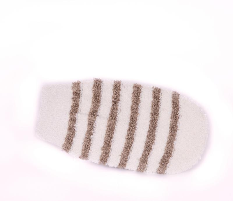 Belle de Provence Striped Bath Mitt