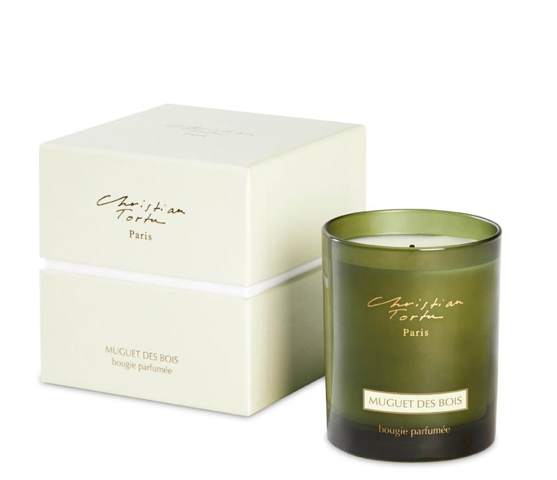 Christian Tortu 190g Scented Candle Lily of the Valley