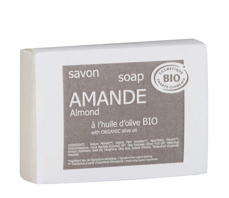 Lothantique Organic 100g Almond Soap - Lothantique USA