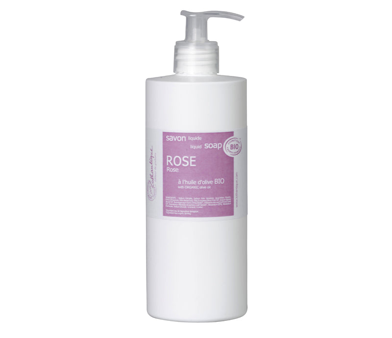 Lothantique Organic 500mL Rose Liquid Soap