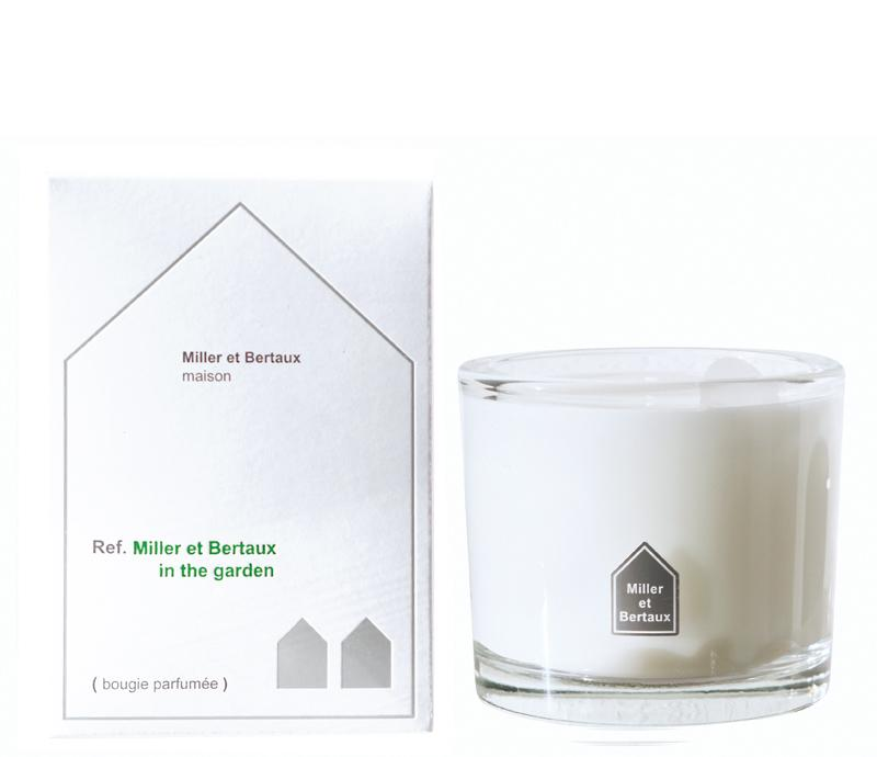 Miller et Bertaux Scented Candle In the Garden