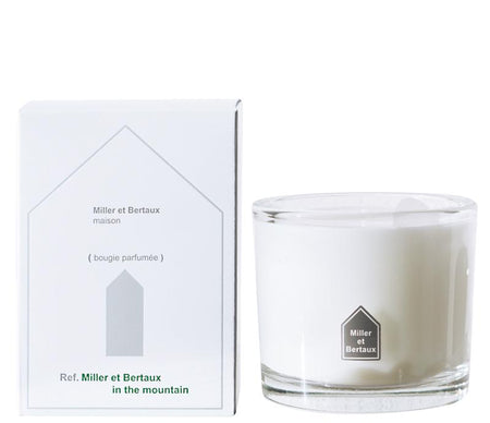 Miller et Bertaux Scented Candle In the Mountains - Lothantique USA